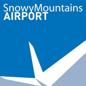Snowy Mts Airport Logo